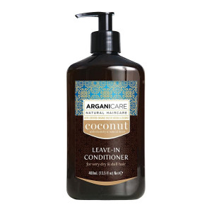ARGANICARE Coconut leave-in conditioner dry hair 400ml