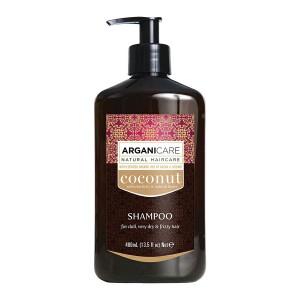 ARGANICARE Coconut shampoo 400ml
