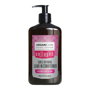 ARGANICARE Collagen leave-in conditioner curly hair 400ml