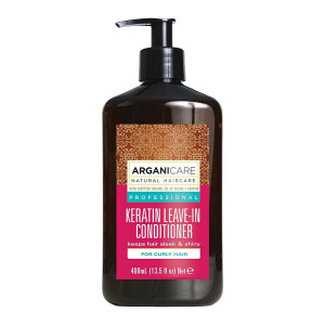 ARGANICARE Keratin leave-in conditioner curly hair 400ml