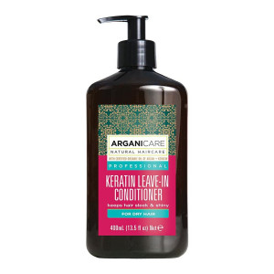 ARGANICARE Keratin leave-in conditioner dry hair 400ml