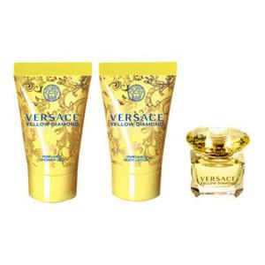 Versace - Yellow Diamond (zestaw 50ml edt+50ml żel+50ml balsam) - 50ml